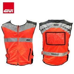 Ao phan quang Givi VEST01 Orange